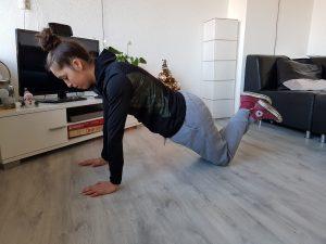beginner push up