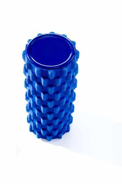 blauwe-foamroller-grid
