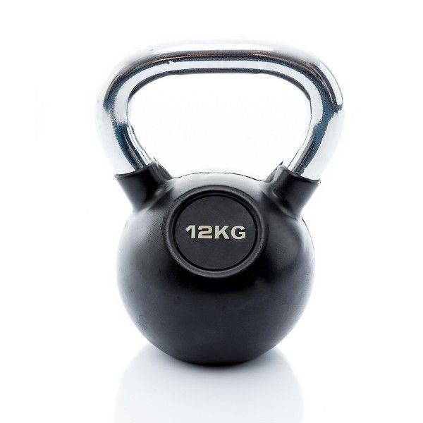 rubbere kettlebell 12 kg