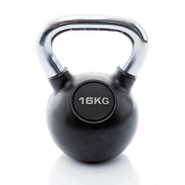 rubbere kettlebell 16 kg