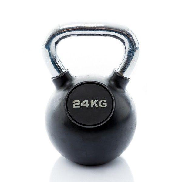 rubbere kettlebell 24 kg