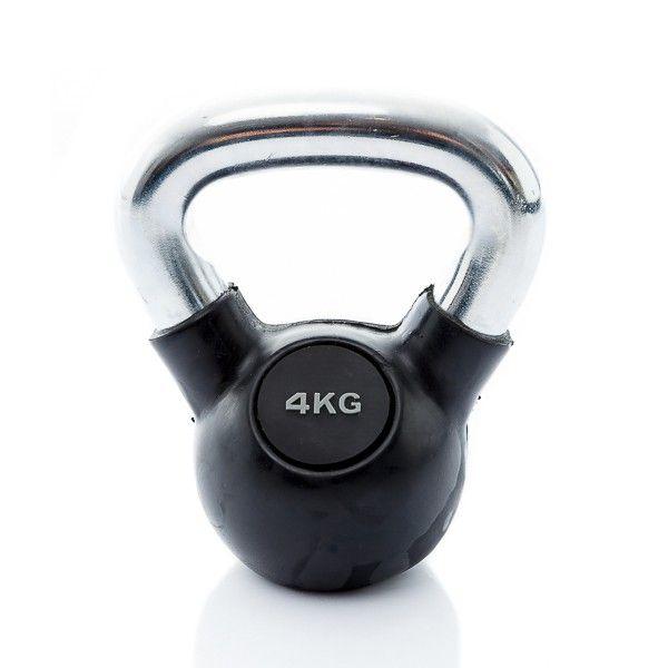rubbere kettlebell 4 kg