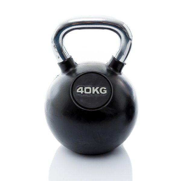 rubbere kettlebell 40 kg