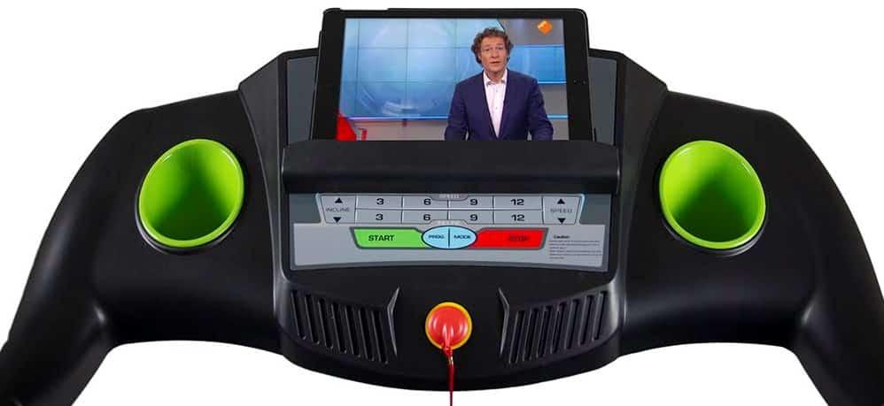 virtufit-loopband-console-tablethouder