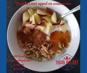 yoghurt-appel-walnoten-ontbijt