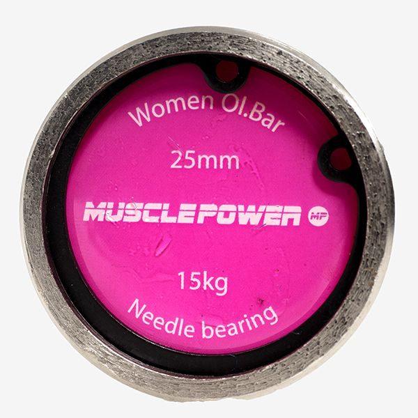 olympische-halterstang-dames-high-performance-201cm-muscle-power-roze-dop
