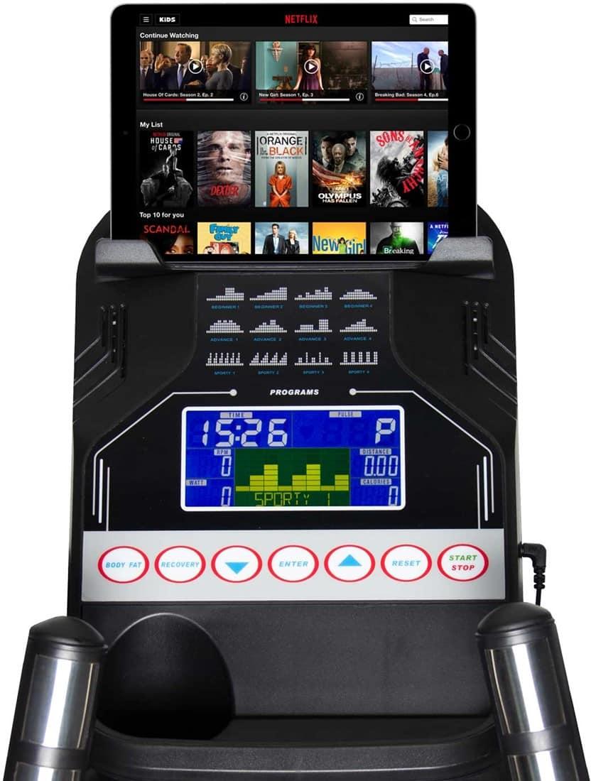 virtufit-elite-fdr-25i-semi-pro-crosstrainer-tablet