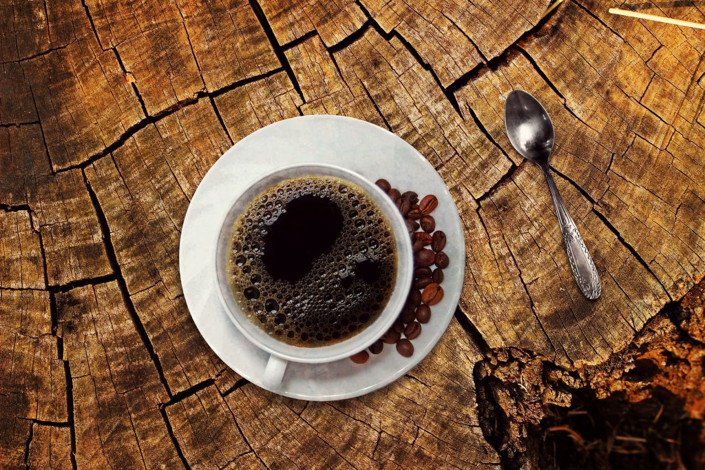 hoge bloeddruk verlagen koffie