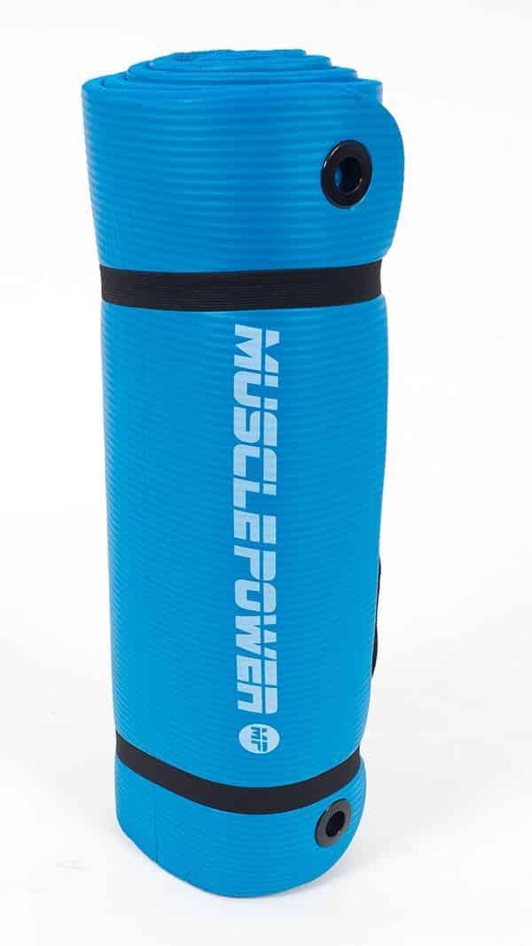 blauw-yogamat-muscle-power