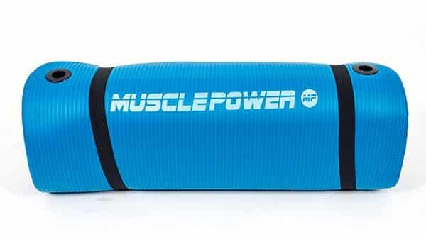 yogamat-blauw-muscle-power