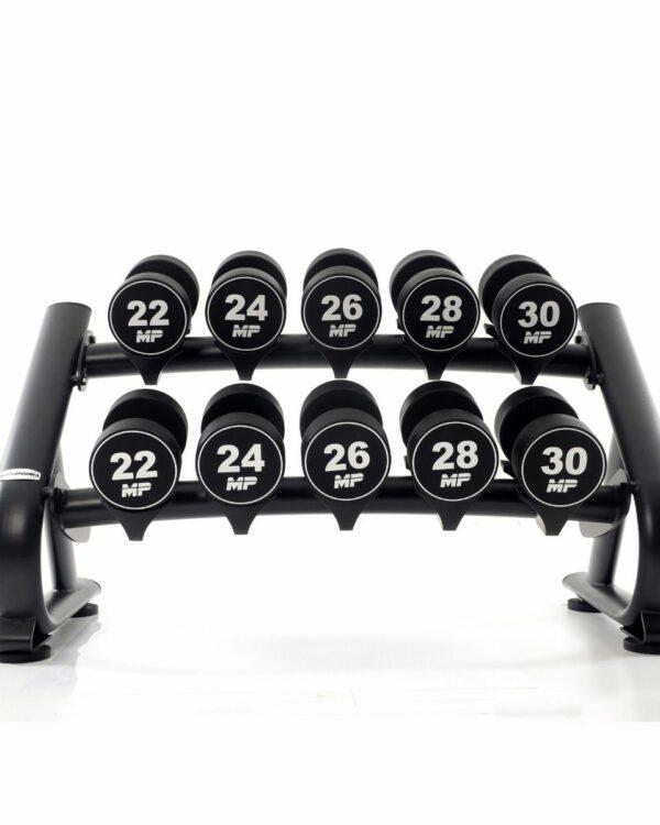 urethaan-dumbbell-set-22-30-kg-op-rek
