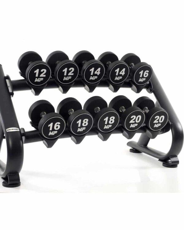 luxe-dumbbellerk-klein-5-sets-muscle-power-met-dumbbells