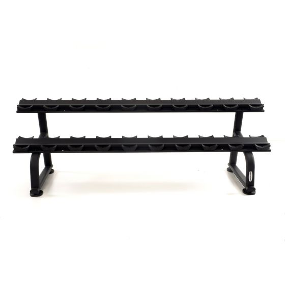 zwart-dumbbell-rek-muscle-power-voor-10-sets-schalen