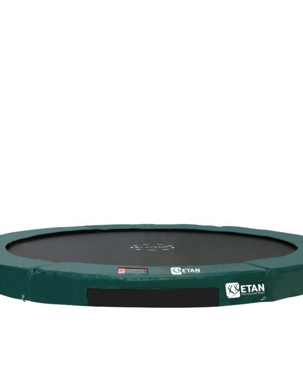Etan Hi-Flyer Inground trampoline 244 cm / 08ft groen