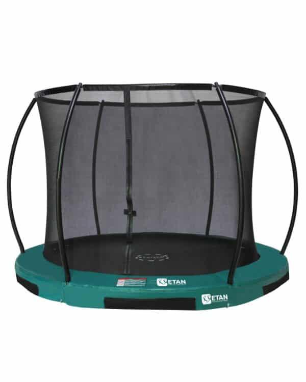 Etan Hi-Flyer Inground trampoline met net 244 cm / 08ft groen