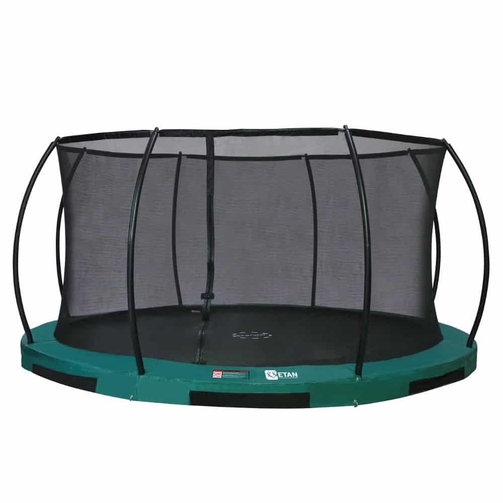 Etan Hi-Flyer Inground trampoline met net 366 cm / 12ft groen2
