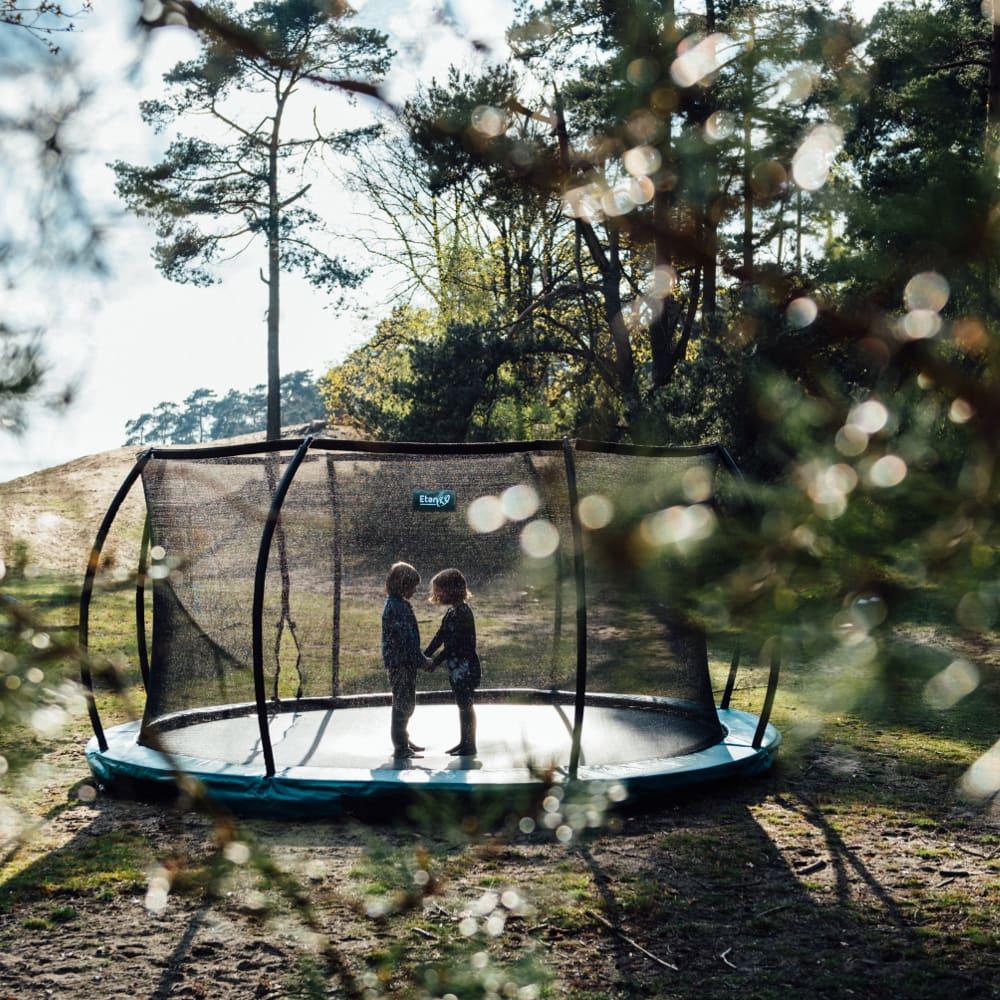 Etan Hi-Flyer Inground trampoline met net 366 cm / 12ft groen3