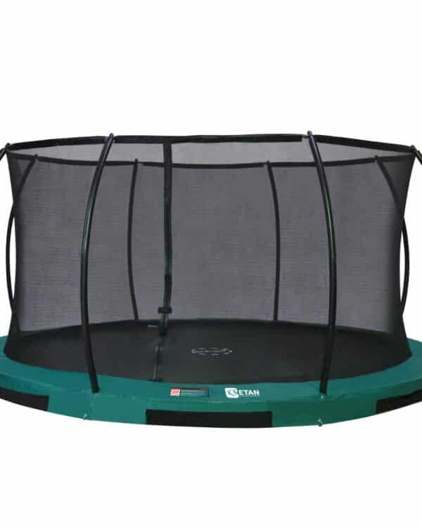 Etan Hi-Flyer Inground trampoline met net 427 cm / 14ft groen