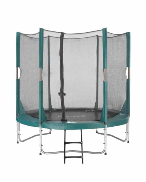 Etan Hi-Flyer trampoline met net 244 cm / 08ft groen
