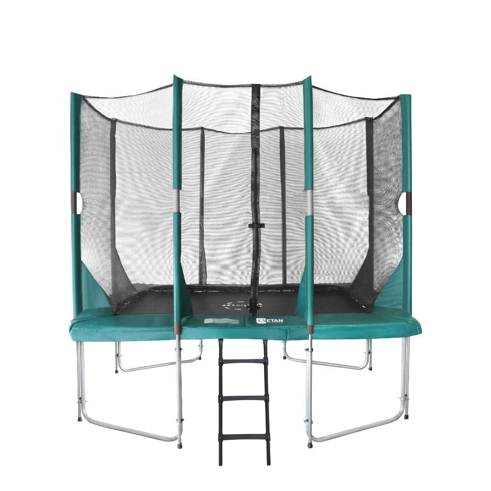 Etan Hi-Flyer trampoline met net 281 x 201 cm / 0965 groen2