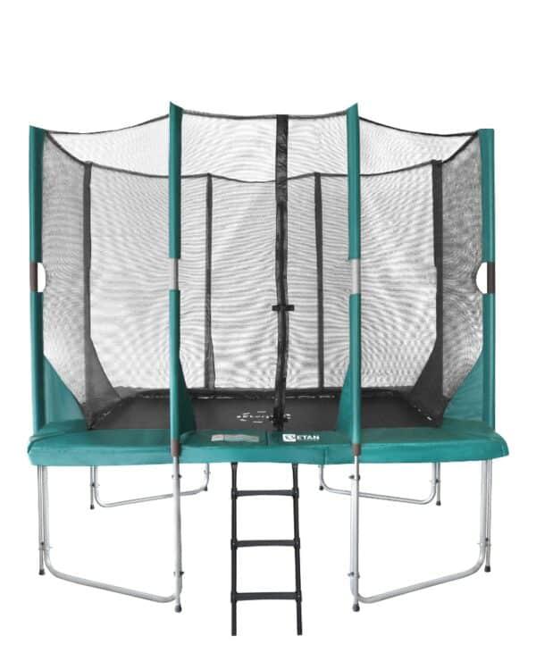 Etan Hi-Flyer trampoline met net 281 x 201 cm / 0965 groen