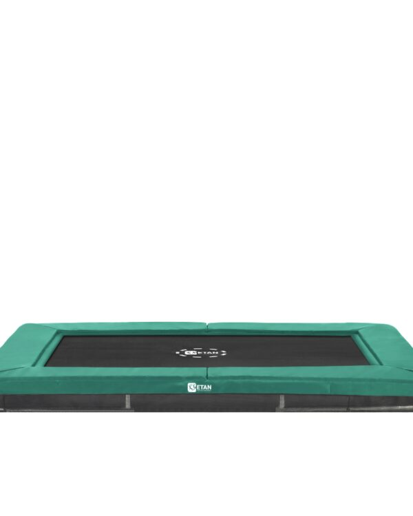 Etan Premium Gold 0965 Inground trampoline 281x201 cm groen2