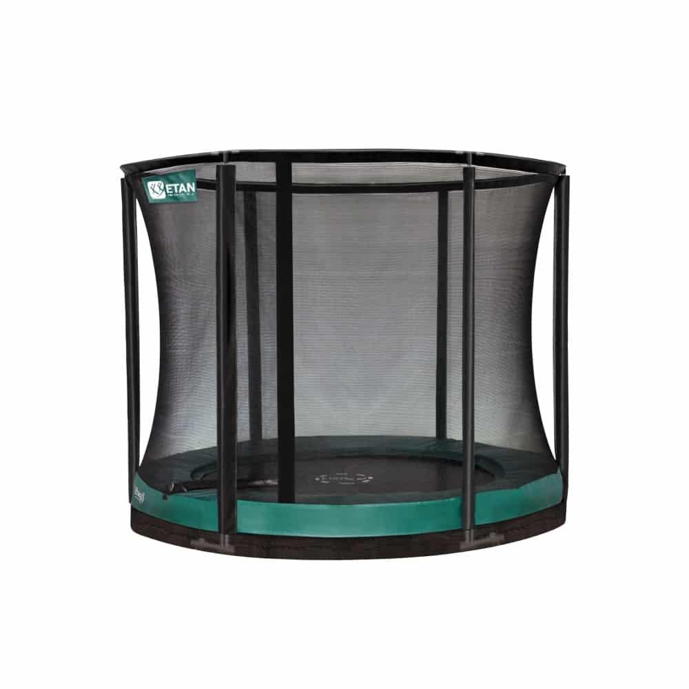Etan Premium Gold 10 Combi Inground trampoline 305 cm groen2