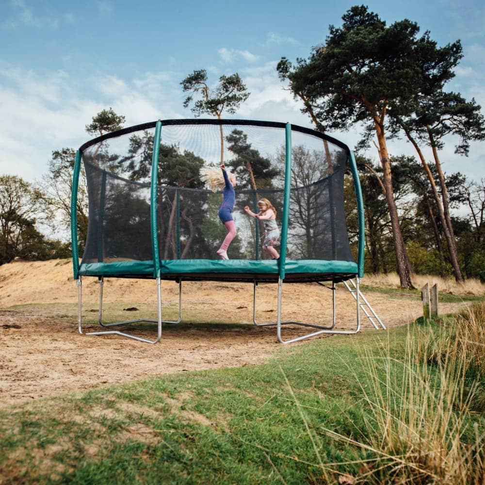 Etan Premium Gold 10 Combi Inground trampoline 305 cm groen3