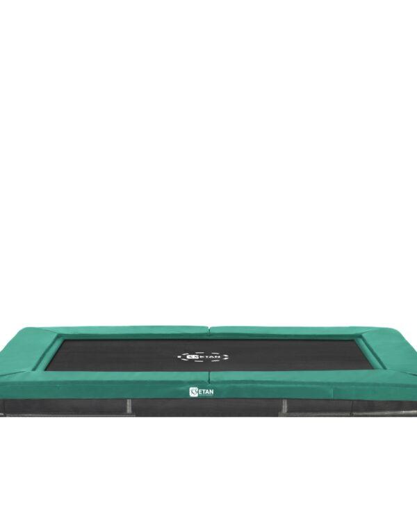 Etan Premium Gold 1075 Inground trampoline 310x232 cm groen