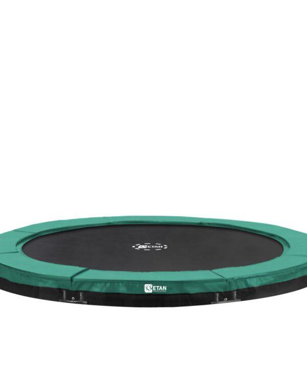 Etan Premium Gold Inground trampoline 244 cm / 08ft groen