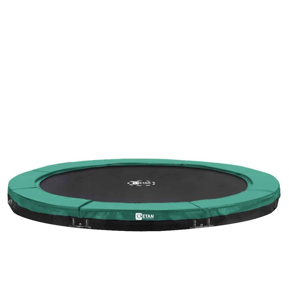 Etan Premium Gold Inground trampoline 427 cm / 14ft groen2