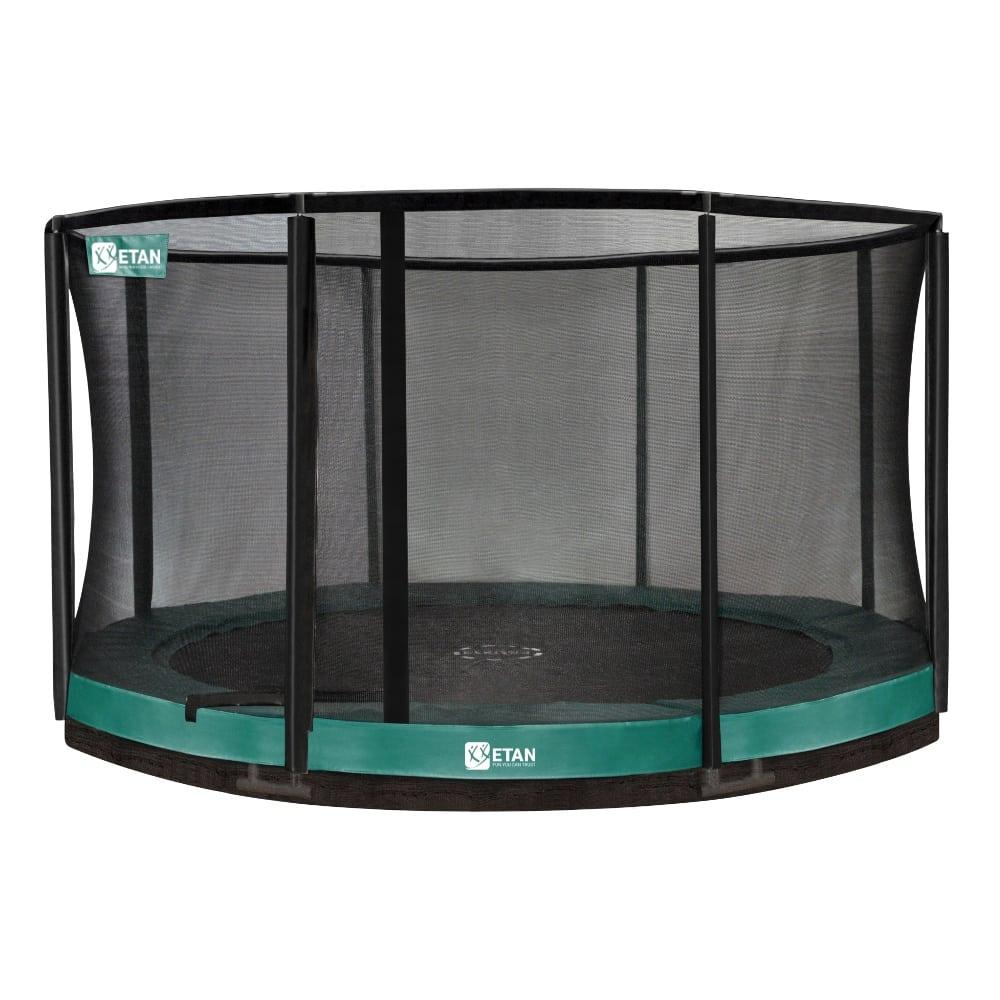 Etan Premium Gold Inground trampoline met net 366 cm / 12ft groen