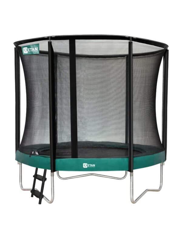 Etan Premium Gold trampoline met net 244 cm / 08ft groen