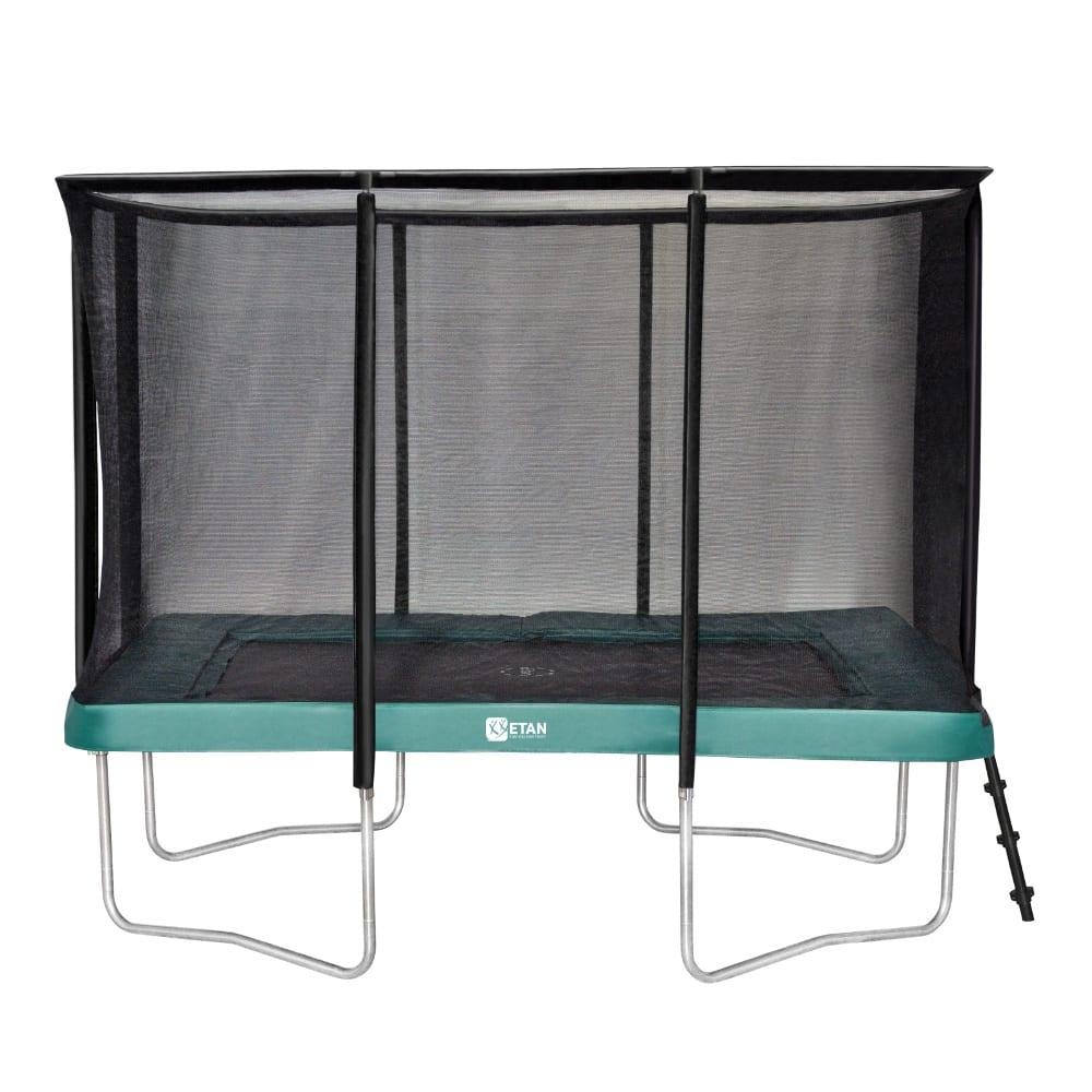Etan Premium Gold trampoline met net 310 x 232 cm / 1075 groen2