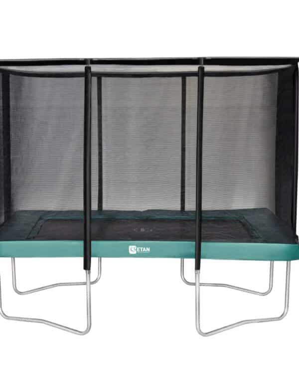 Etan Premium Gold trampoline met net 310 x 232 cm / 1075 groen