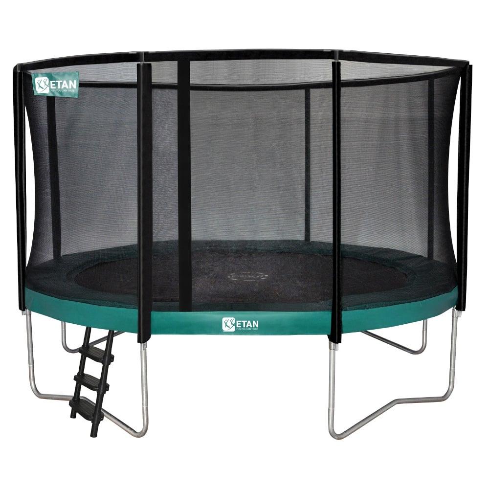 Etan Premium Gold trampoline met net 366 cm /12ft groen2