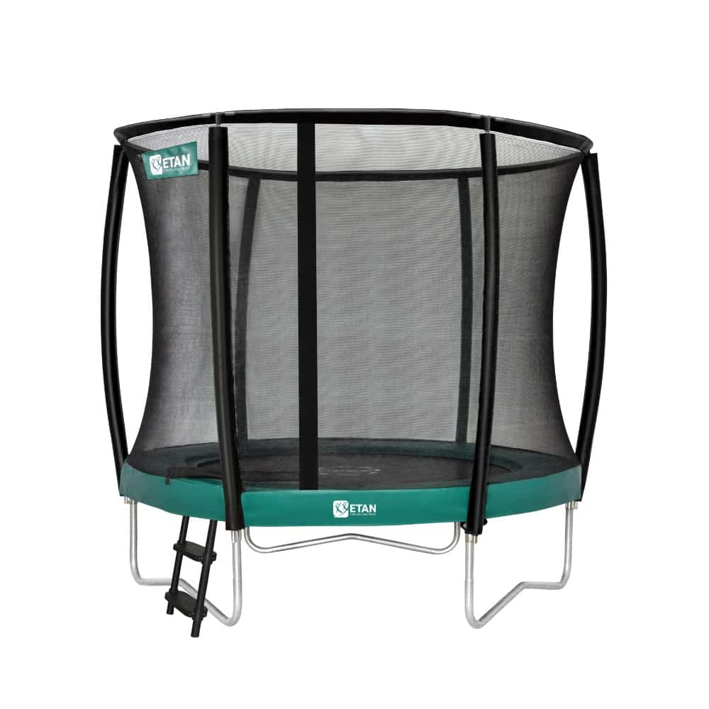 Etan Premium Gold trampoline met net deluxe 244 cm / 08ft groen2