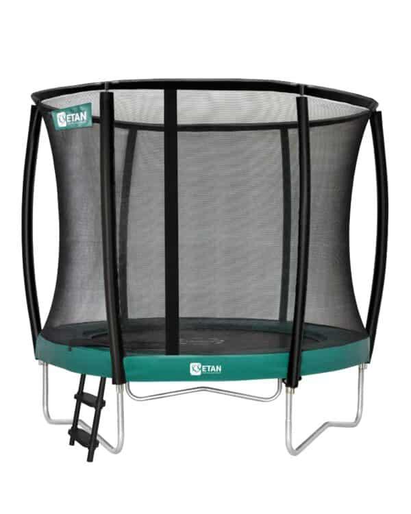 Etan Premium Gold trampoline met net deluxe 244 cm / 08ft groen