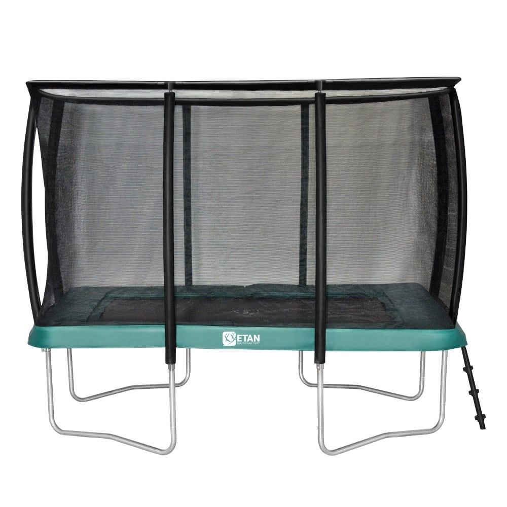 Etan Premium Gold trampoline met net deluxe 281 x 201 cm / 0965 groen