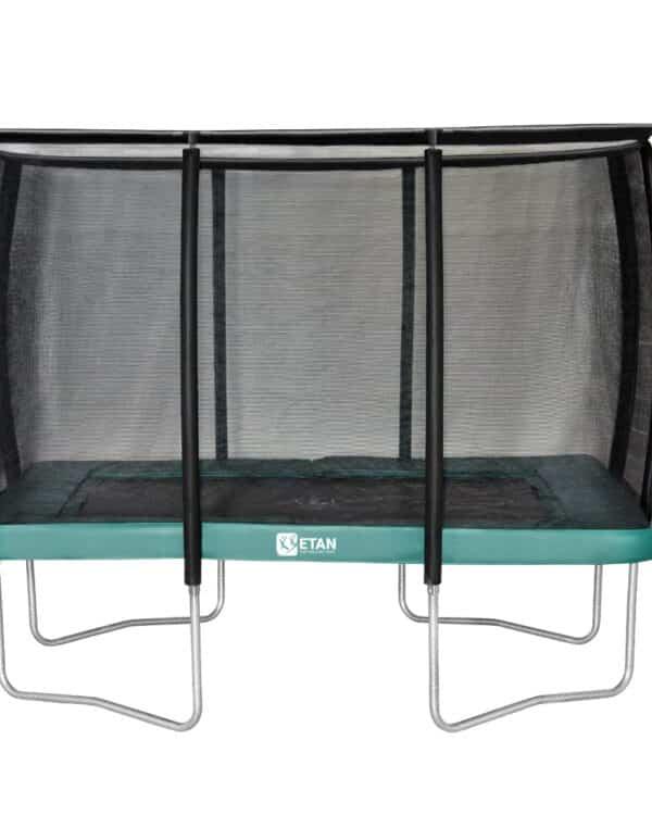 Etan Premium Gold trampoline met net deluxe 310 x 232 cm / 1075 groen2