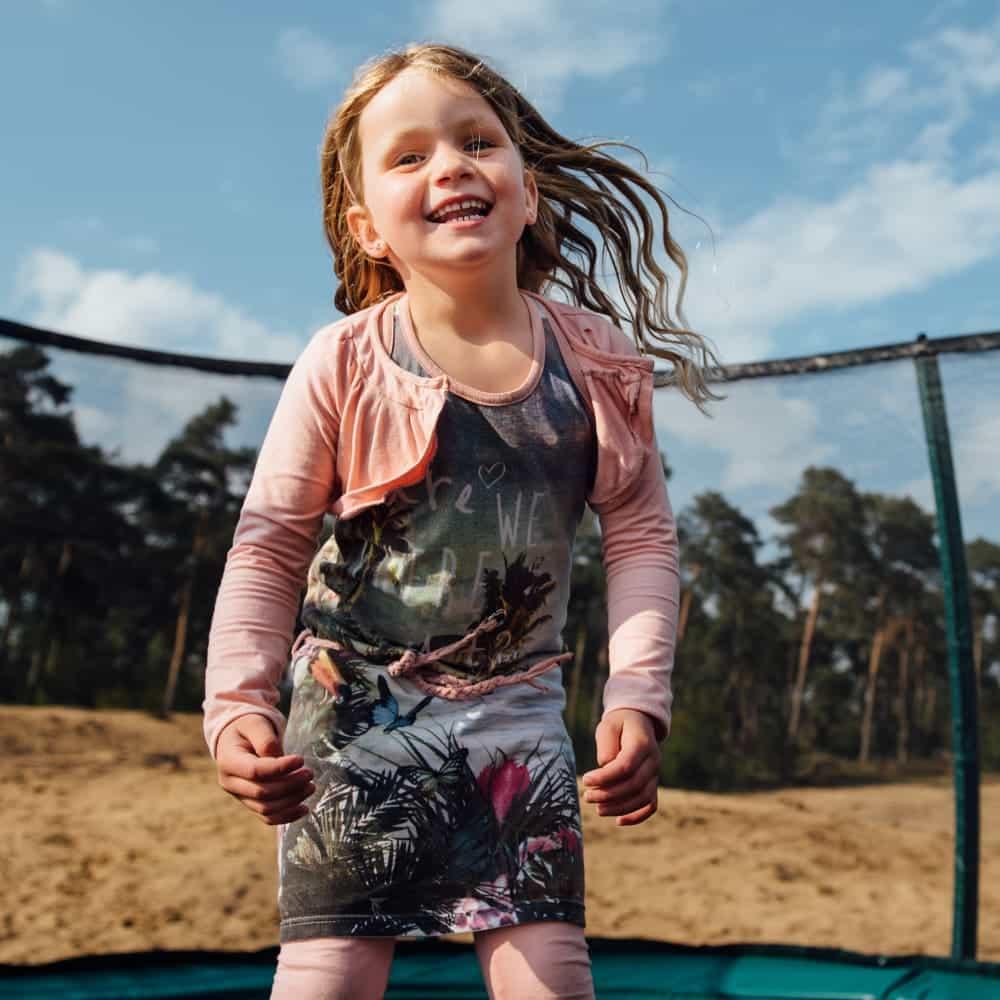 Hi-Flyer 0965 Combi Inground trampoline 281x201 cm groen3