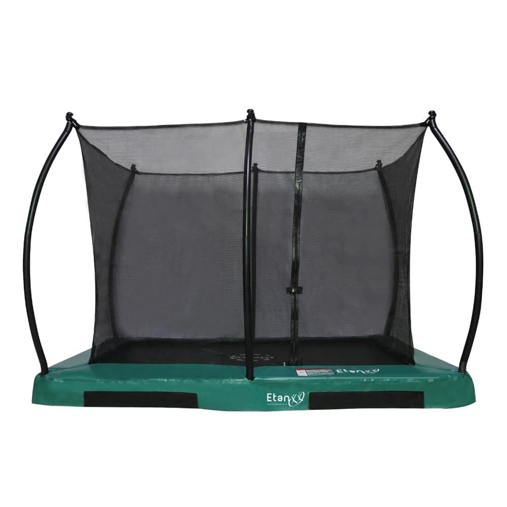 Hi-Flyer 0965 Combi Inground trampoline 281x201 cm groen8