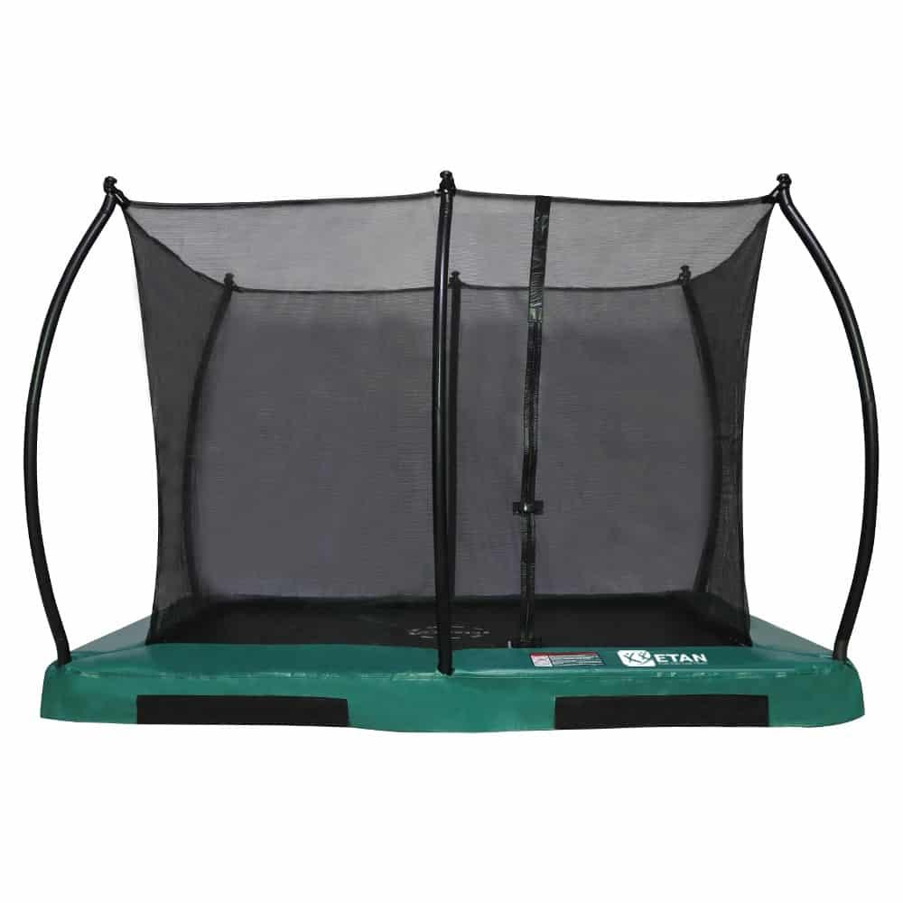 Hi-Flyer 0965 Combi Inground trampoline 281x201 cm groen
