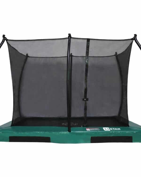 Hi-Flyer 1075 Combi Inground trampoline 310x232 cm groen