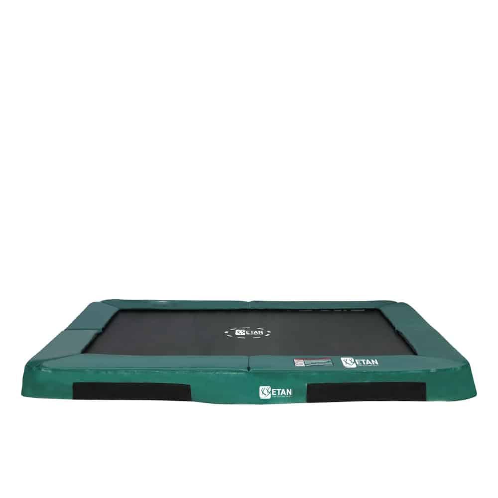 HiFlyer 0965 Inground trampoline 281x201 cm groen2