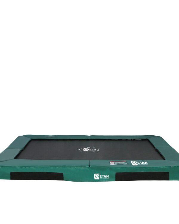 HiFlyer 0965 Inground trampoline 281x201 cm groen