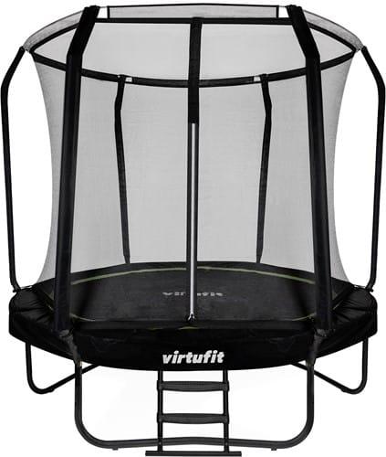 virtufit-premium-trampoline-met-veiligheidsnet-zwart-244-cm