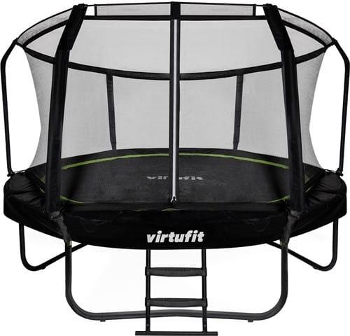virtufit-premium-trampoline-met-veiligheidsnet-zwart-366-cm