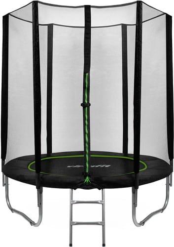 virtufit-trampoline-met-veiligheidsnet-zwart-183-cm