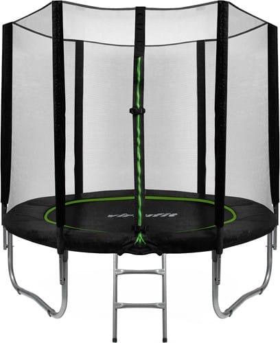 virtufit-trampoline-met-veiligheidsnet-zwart-305-cm